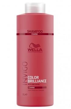 Wella Invigo Color Brilliance Шампунь для окрашенных жестких волос 1000мл