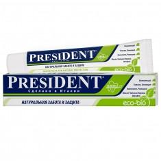 Президент Eco-bio зубная паста 50мл N1 туба President