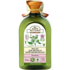 Зеленая аптека масло Репейное для мытья для укрепления волос 250 мл ЗЕЛЕНАЯ АПТЕКА