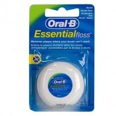 Орал би зубная нить EssentialFloss вощеная мятная 50м ORAL-B
