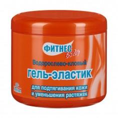 Floresan Фитнес боди гель-эластик для подтягивания кожи и уменьшения растяжек 500мл