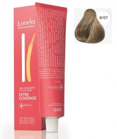 Londa Extra Coverage интенсивное тонирование седых волос 8/07 60мл LONDA PROFESSIONAL
