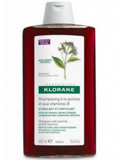 Клоран (Klorane) Шампунь с экстрактом хинина и витаминами группы В укрепляющий 100 мл