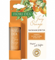 Бальзам для губ Фьери Дея Сочный апельсин защитный 4,5 гр FIORI DEA