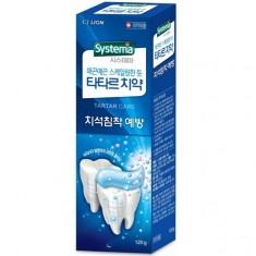Лион (CJ Lion) зубная паста Systema Tartar против образования зубного камня 120 г