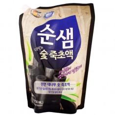 KeraSys средство для мытья посуды СУНСЭМ Бамбуковый уголь 1200мл (запаска)