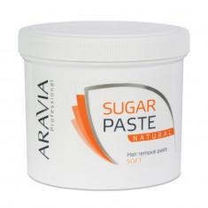Aravia Паста сахарная для депиляции Натуральная мягкой консистенции 750г Aravia professional