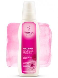 Веледа Розовое гармонизирующее молочко для тела 200 мл Weleda
