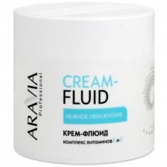 Aravia Крем-флюид Нежное увлажнение с витаминами Е и С 300мл Aravia professional