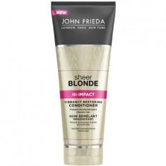 John Frieda Sheer Blonde HI-IMPACT Восстанавливающий кондиционер для сильно поврежденных волос 250 мл