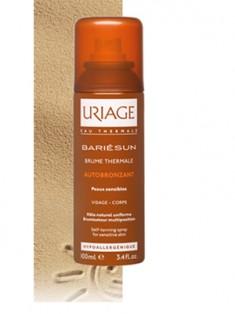 Uriage (Урьяж) Барьесан Термальный спрей автобронзант для чувствительной кожи 100 мл