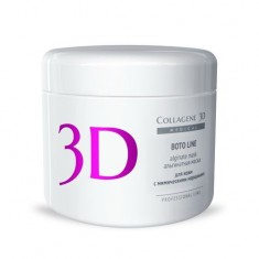 Коллаген 3Д BOTO LINE Альгинатная маска для лица и тела с аргирелином 200 г Collagene 3D
