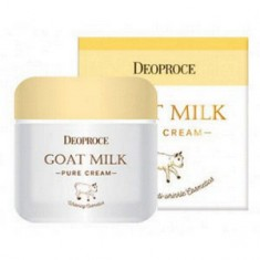 Антивозрастной крем с экстрактом козьего молока для лица, 50 г (Deoproce)