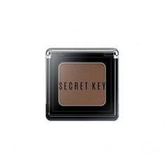 Тени моно для век, тон Moment beige brown, 3,8 г (Secret Key)