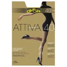 Колготки женские OMSA ATTIVA 40 den Nero р-р 5
