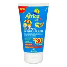 Африка кидс крем солнцезащитный spf30 для чувствительной кожи 150 мл
