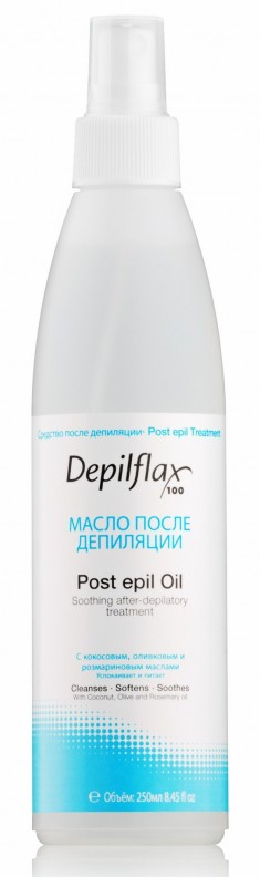 DEPILFLAX 100 Масло с розмарином после депиляции / Post Epil Oil 250 мл