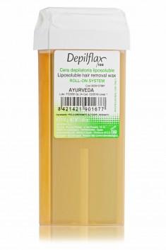 DEPILFLAX 100 Воск для депиляции в картридже, аюрведа 110 г