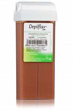 DEPILFLAX 100 Воск для депиляции в картридже, шоколад 110 г