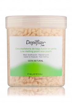 DEPILFLAX 100 Воск горячий в гранулах, натуральный 600 г