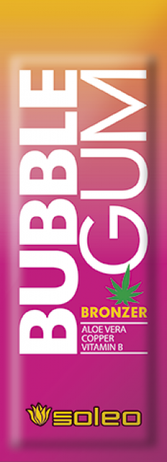 SOLEO Бронзатор с алоэ, медью и витамином В / Bubble Gum Basic 15 мл