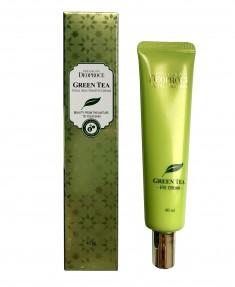 крем бб deoproce greentea total solution bb cream spf50+pa+++