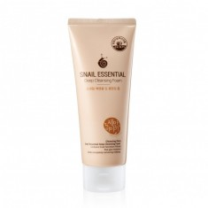 пенка для умывания welcos cleansing story snail essential deep cleansing