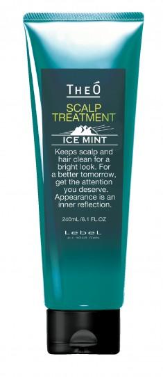 LEBEL Крем-уход для кожи головы и волос мужской Ледяная мята / THEO SCALP TREATMENT ICE MINT 240 мл