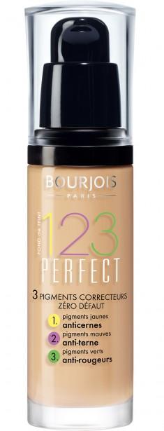 BOURJOIS Крем тональный для лица, 52 ваниль / 123 Perfect New
