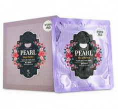 Маска гидрогелевая с маслом Ши и жемчужной пудрой PETITFEE KOELF Hydro gel mask pack jewel series pearl & shea butter 30г