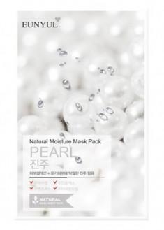 Тканевая маска с экстрактом жемчуга EUNYUL Natural moisture mask pack pearl 23мл