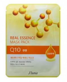 Тканевая маска с коэнзимом Q10 JUNO Real essence mask pack Q10 25 мл