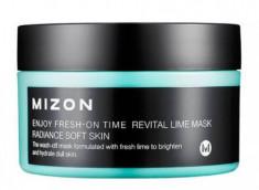Маска увлажняющая с экстрактом лайма MIZON Enjoy Fresh On-Time Revital Lime Mask 100мл