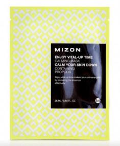 Тканевая маска успокаивающая MIZON Enjoy Vital Up Time Calming Mask 25мл