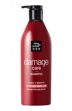 Шампунь для поврежденных волос MISE EN SCENE Damage Care Shampoo 680 мл