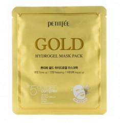 Маска гидрогелевая с золотом PETITFEE Gold hydrogel mask pack 32г KOELF