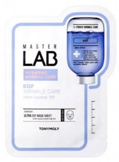 Тканевая маска с эпидермальным фактором роста TONY MOLY Master Lab EGF mask sheet 19 г