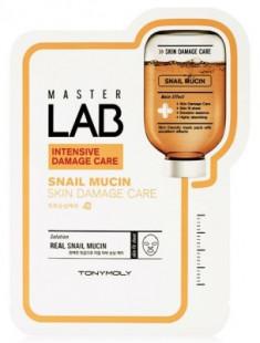 Тканевая маска с муцином улитки TONY MOLY Master Lab snail mucin mask sheet 19 г