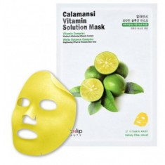 маска для лица тканевая витаминная eyenlip calamansi vitamin solution mask