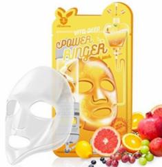 Маска тканевая с витаминами ELIZAVECCA Vita deep power ringer mask pack 23 мл.