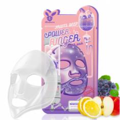 Маска тканевая с фруктами ELIZAVECCA Fruits deep power ringer mask pack 23 мл