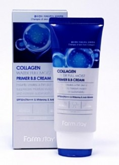 ВВ-крем с коллагеном улажняющий FARMSTAY Collagen water full moist primer BB-cream 50 мл
