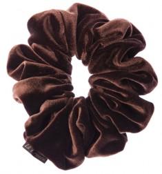 LA FRANCE Резинка бархатная, цвет коричневый