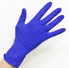 SAFE & CARE Перчатки нитриловые фиолетовые М Safe & Care 100 шт ЧИСТОВЬЕ