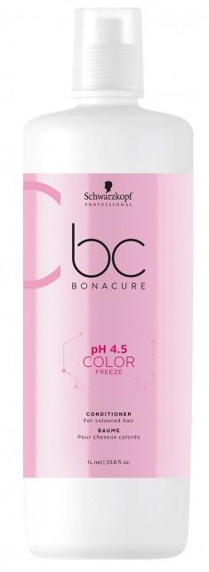 SCHWARZKOPF PROFESSIONAL Кондиционер для окрашенных волос / BC pH 4.5 Color Freeze 1000 мл