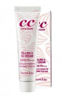 CC-крем для увлажнения и сияния SECRET KEY Telling U CC Cream SPF50
