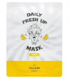 Маска с экстрактом лимона VILLAGE 11 FACTORY Daily Fresh up Mask Lemon