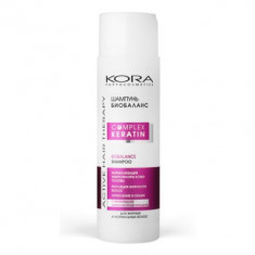 Шампунь биобаланс KORA Phitocosmetics Active Hair Therapy Complex Keratin 250мл