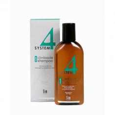 Шампунь терапевтический №1 для нормальных и склонных к жирности волос SIM SENSITIVE System4 215мл