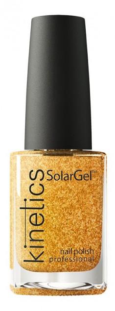 KINETICS 415 лак профессиональный для ногтей / SolarGel Polish Sparkling 15 мл